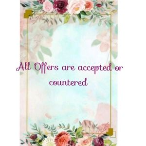 All Offers are accepted or countered.